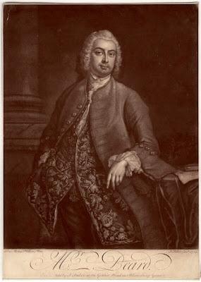 John Beard by John Faber Jr, after John Michael Williams 1740 (© National Portrait Gallery)