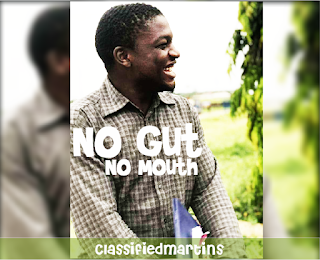No Gut No Mouth - ClassifiedMartins