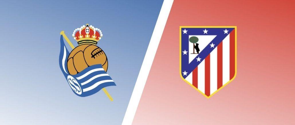 مباراة اتلتيكو مدريد وريال سوسيداد اليوم