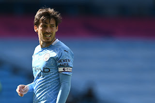 Lazio Set to sign Manchester City captain David Silva on Monday