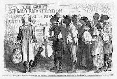 "The Great Negro Emancipation,  ""Sensation among 'our colored brethren'"
