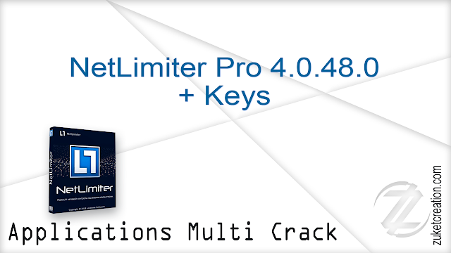 NetLimiter Pro 4.0.48.0 + Keys    |   7 MB