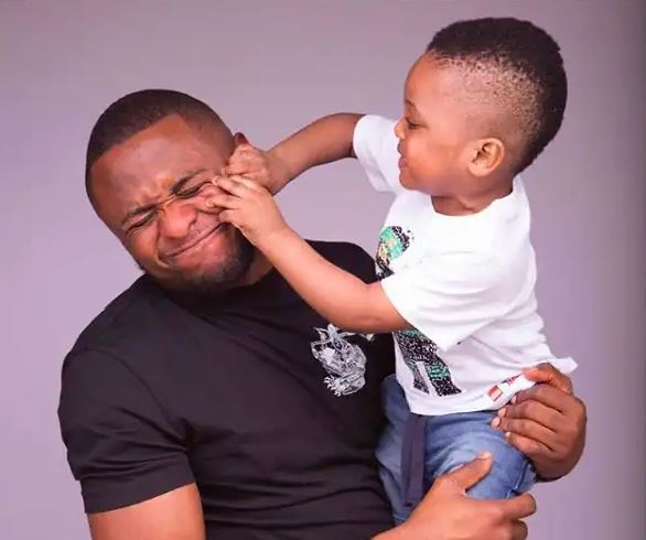 Read Ubi Franklin's birthday message to his son Jayden