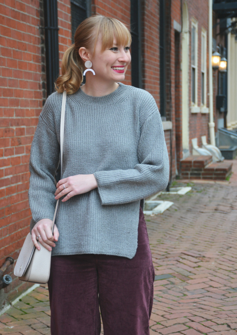 A Cozy Movie Date Outfit | Organized Mess