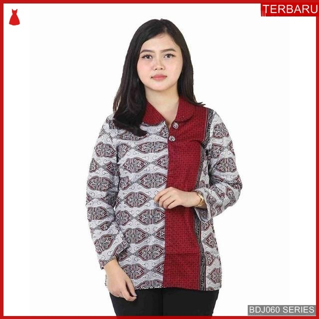 BDJ60B42 Blouse Batik 0066 Terbaru BMGShop