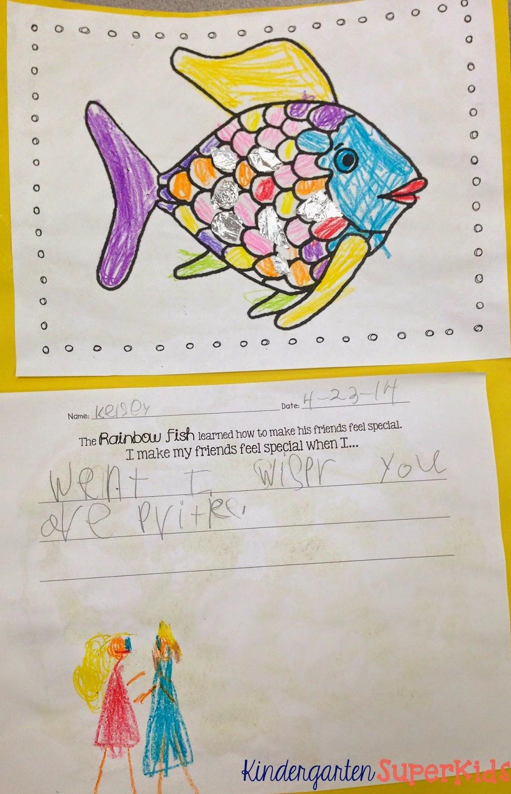 Kindergarten Superkids Fish Frenzy Literacy Resources
