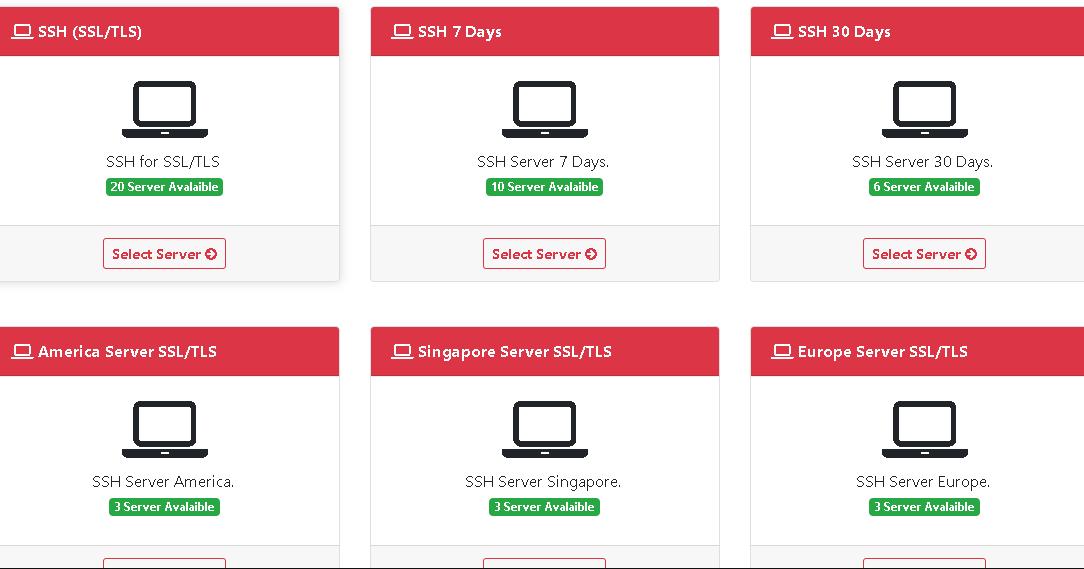 Kumpulan Situs Pembuat Akun SSH TLS/SSL Premium - Kumpulan Remaja