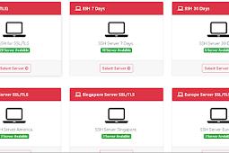 Kumpulan Situs Pembuat Akun SSH TLS/SSL Premium
