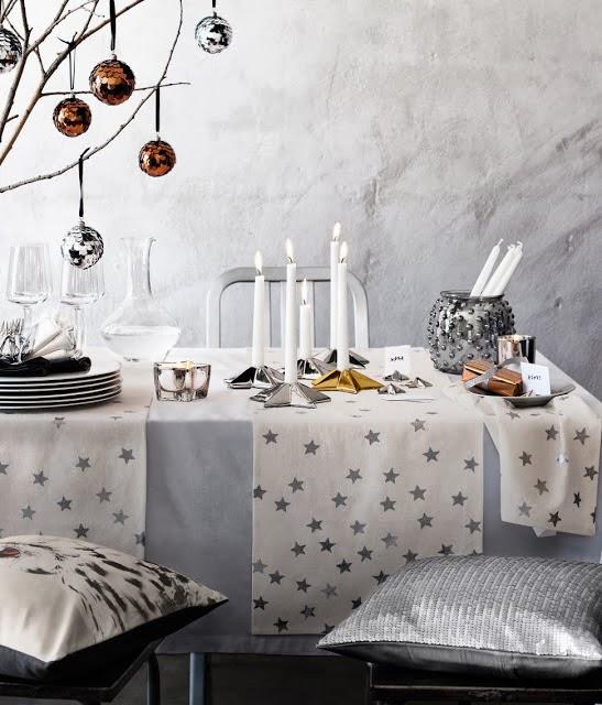 Selecciona bien los colores de tu mesa de Navidad