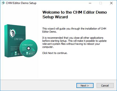Hướng dẫn cài đặt CHM Editor 3.1.0