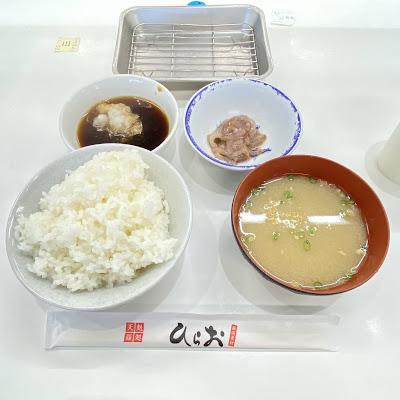 天ぷらひらお,野菜定食,いかの塩辛