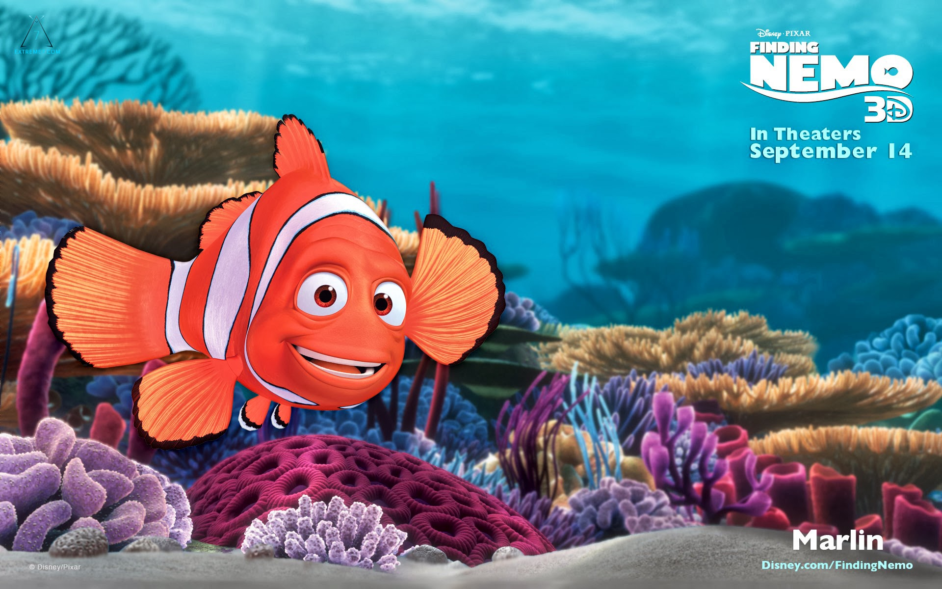 Finding Nemo 3D Official Wallpapers