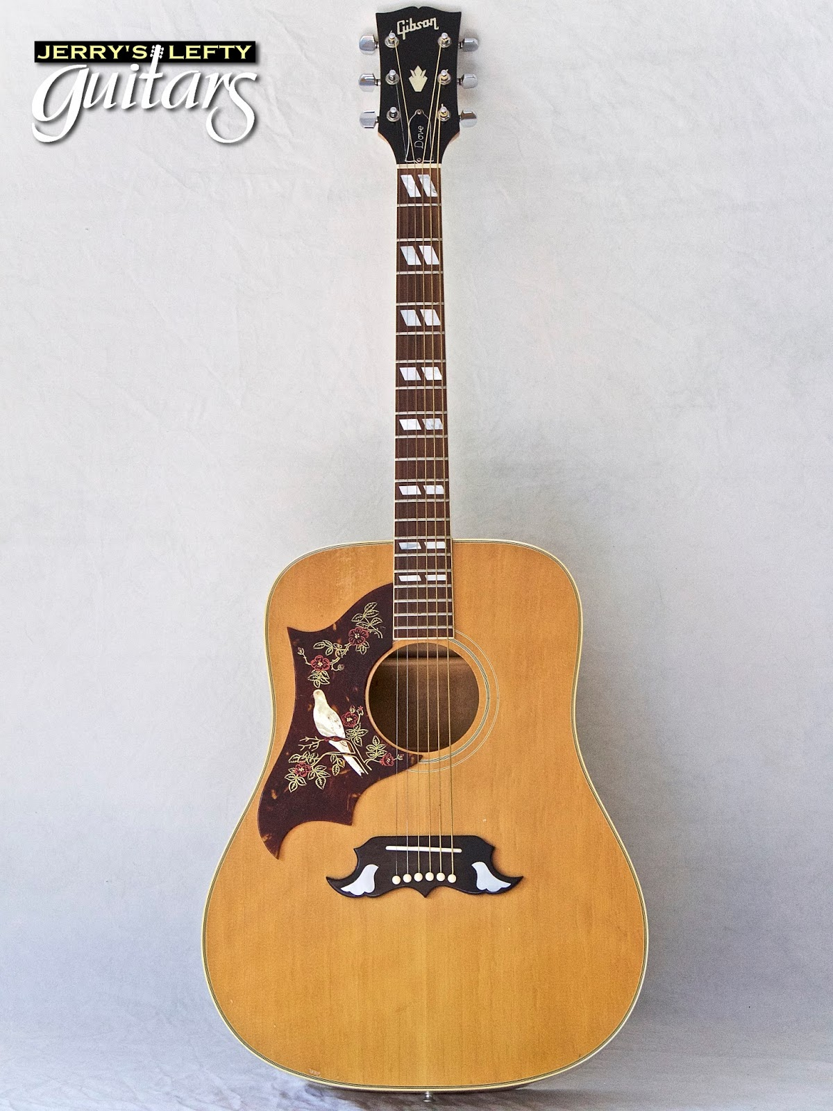 jerry 39 s lefty guitars newest guitar arrivals updated weekly 1968 gibson dove left handed. Black Bedroom Furniture Sets. Home Design Ideas
