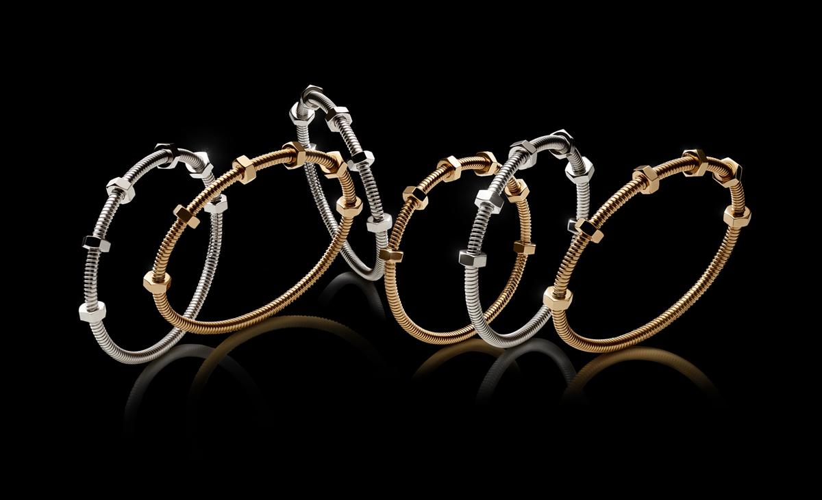 Cartier's Latest Écrou de Cartier Jewellery Collection