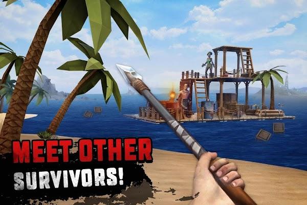 Survival on Raft Ocean Nomad – Simulator v 1.143 APK MOD (Unlimited Money)
