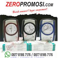 Jam Meja Souvenir Promosi JMP-819, Souvenir Jam Meja Unik, jam meja Weker & Alarm, jam meja analog promosi, jam meja promosi kantor