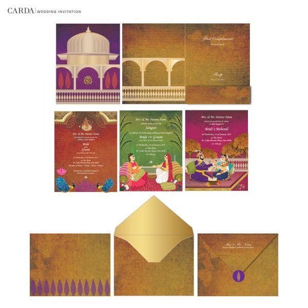 Buy Wedding Invitation Cards Online: Online Invitation Cards: Buy Wedding Cards Online In Delhi