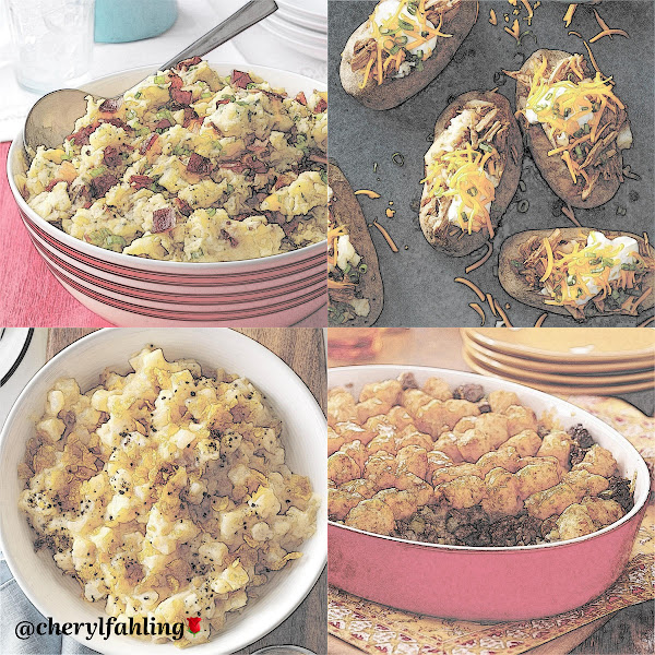 Loaded Smashed Taters, Pulled Pork Taters, Scalloped Taters, Tater-Topped Casserole