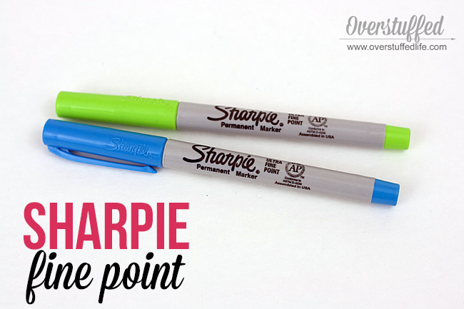 sharpie ultra fine point | paper planners