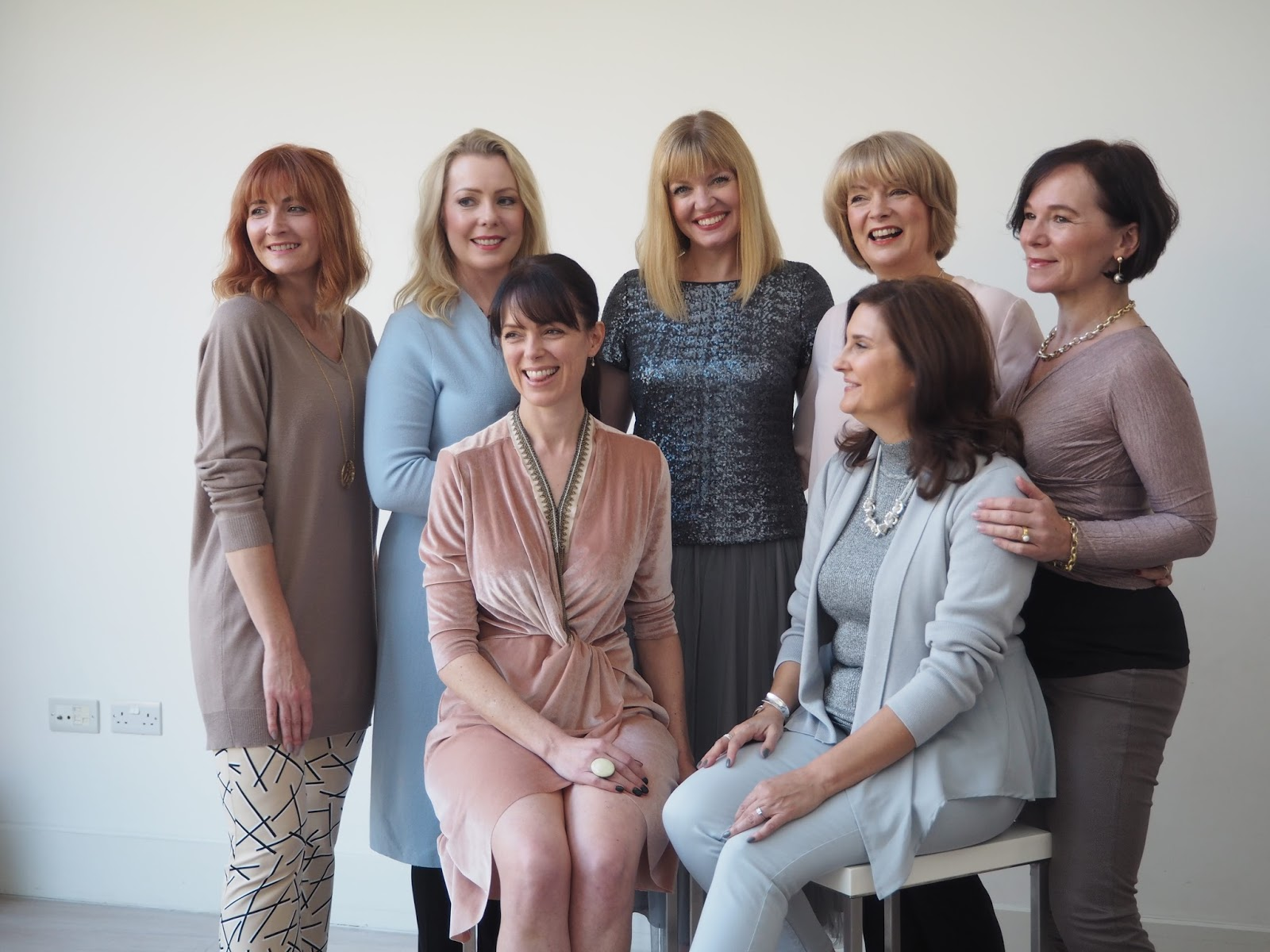 Behind the scenes at The Over 40 Collective bloggers photoshoot in London