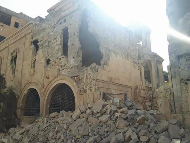 Το οστεοφυλάκιο χιλιάδων θυμάτων της Αρμενικής γενοκτονίας, μετά το πέρασμα του Ισλαμικού Κράτους (ISIS), 2014