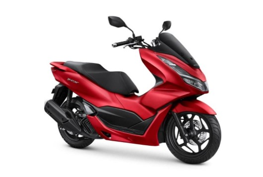 New PCX160 4 Katup Indonesia Warna Merah
