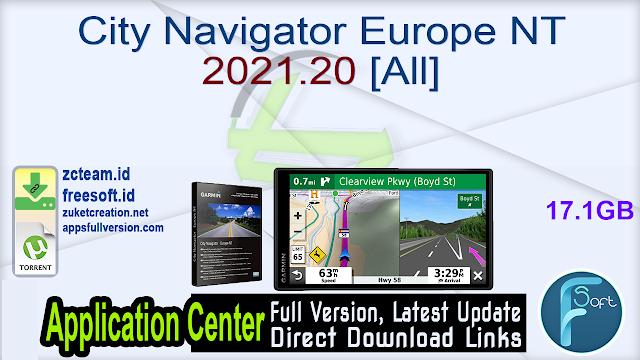 City Navigator Europe NT 2021.20 [All]_ ZcTeam.id