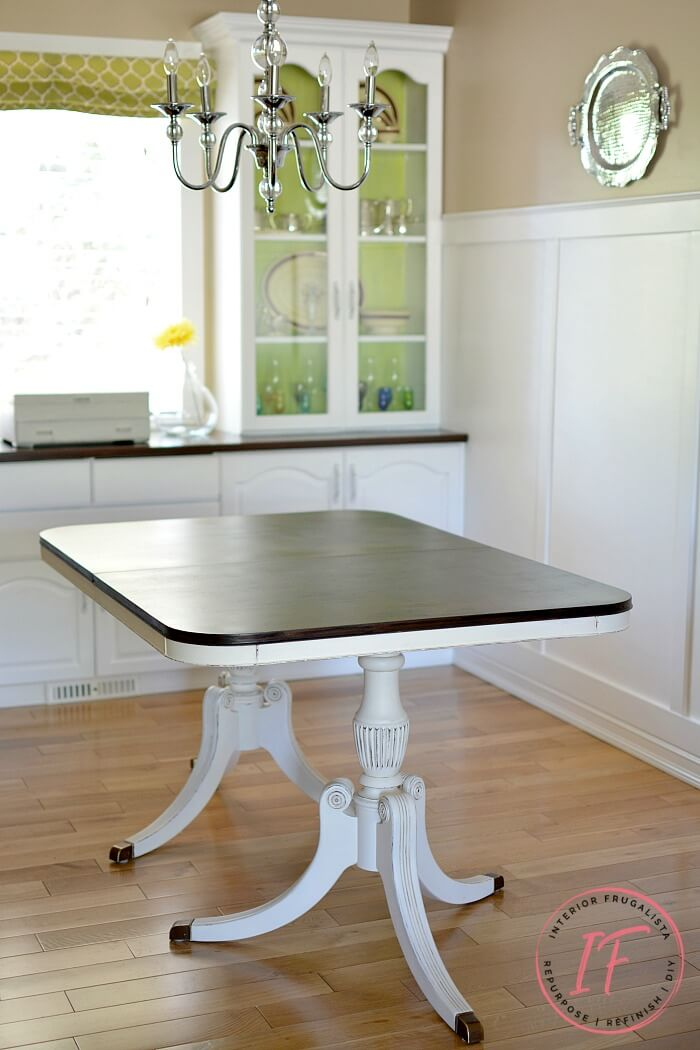 Duncan Phyfe Dining Table After