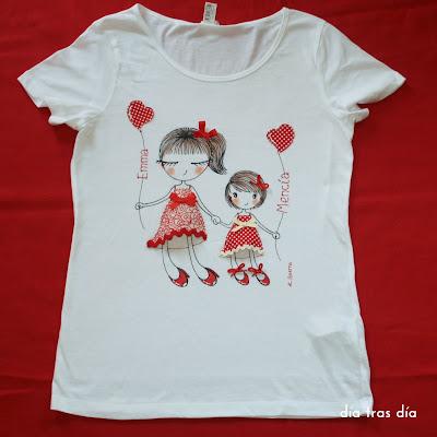 Camiseta personalizada artesana