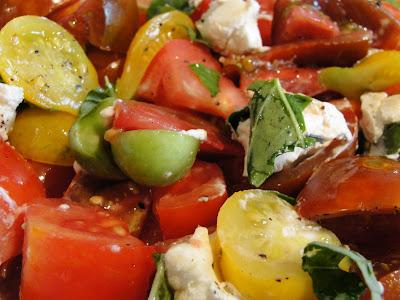 farmers' market salad