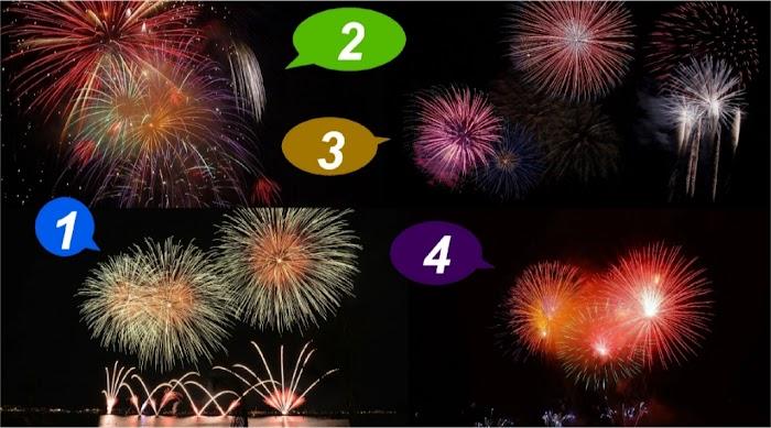 Выберите фейерверк и узнайте, что таит в себе завтрашний день: экспресс-предсказание
