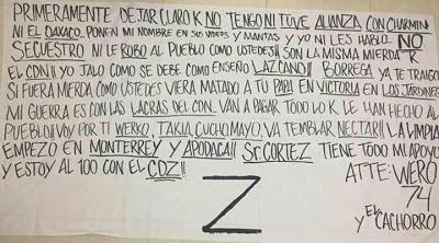 Ministeriales,Tranistos,Municipales apoyando a CDN seran ejecutados y puestos de ejemplo Att: CDZ Wero 74
