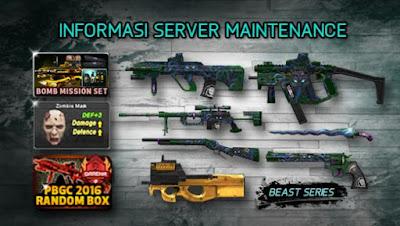 "Point Blank Garena Indonesia Senjata Baru ""Seri Beast"""