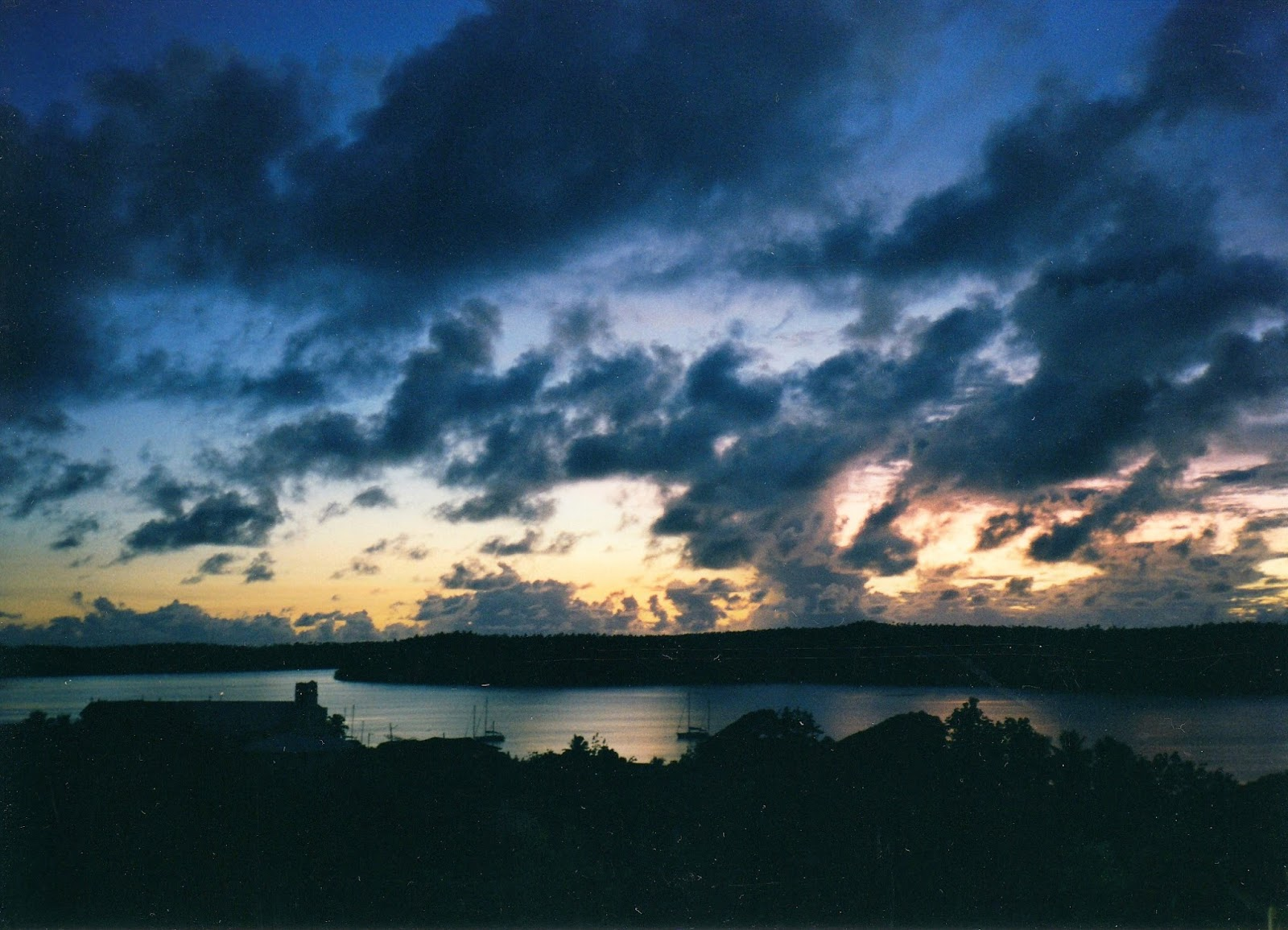 Tonga, where we saw out the last day of 1999
