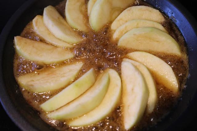 Apple Tarte Tatin pie plate recipe