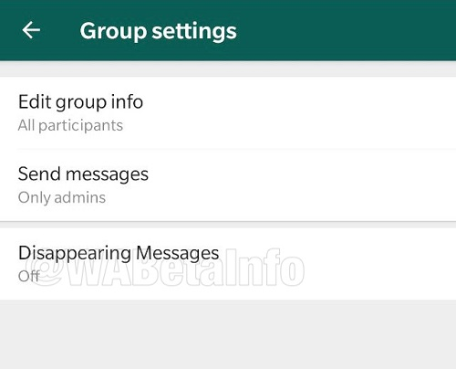 Disappearing Messages Coming Soon on WhatsApp