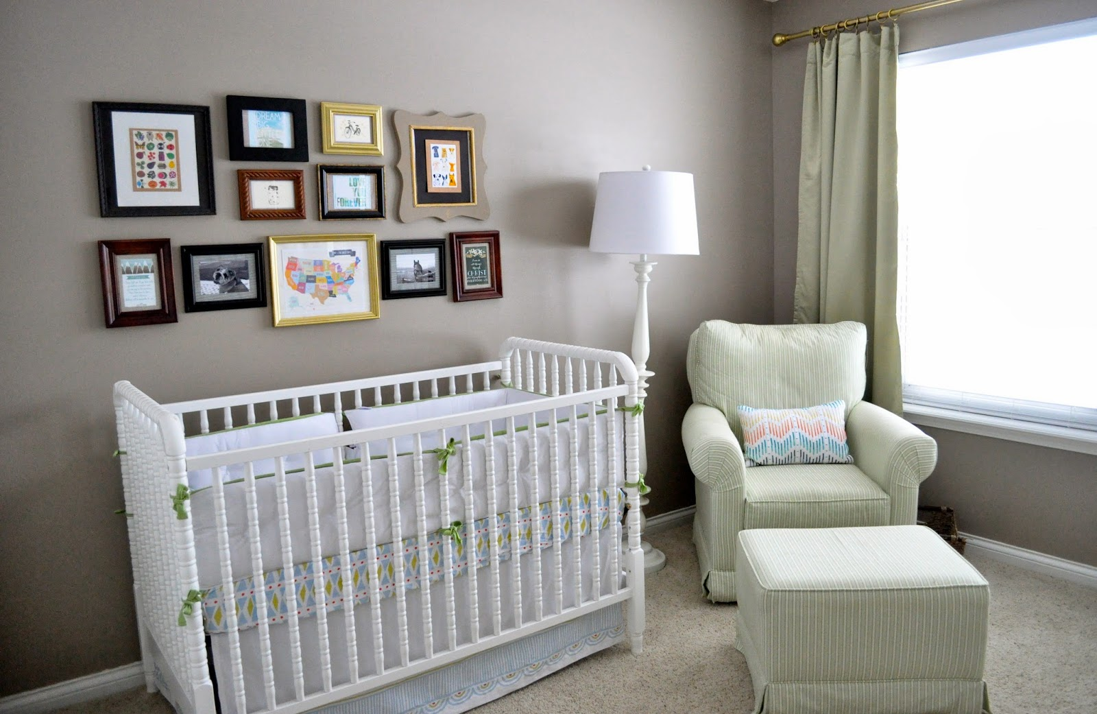 Not Sure If You Are Stuck On Behr But I Just Did Sw Mega Greige In My Son S Nursery And Love It Also