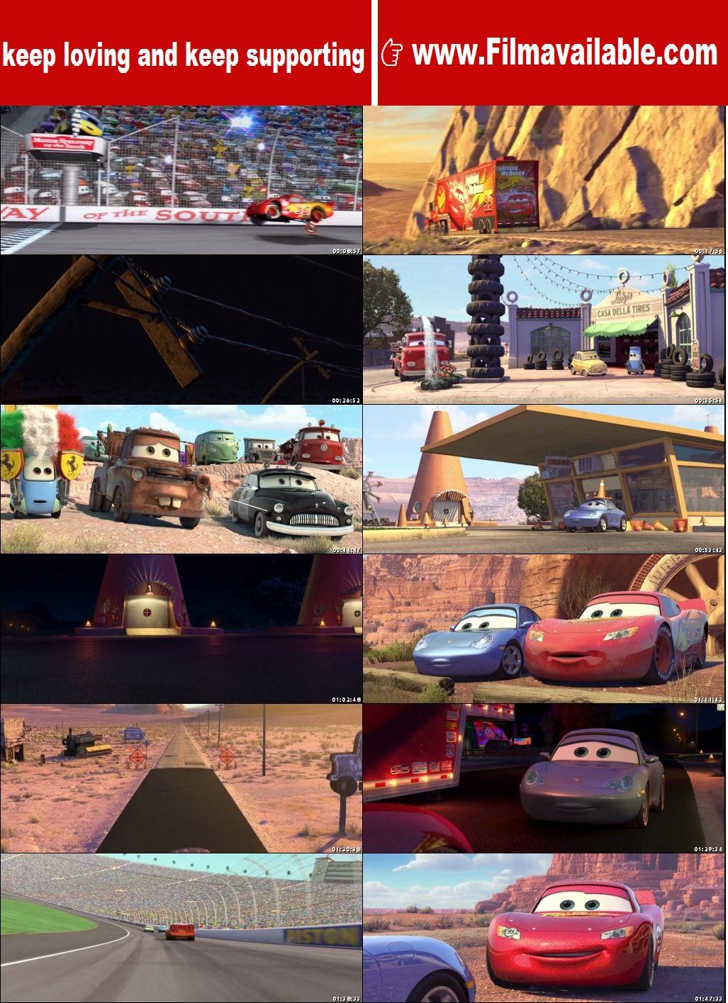 Cars 2006 Full Movie Download Dual Audio Hindi Dubbed 720p Brrip