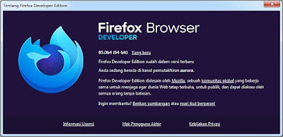 MOZILLA FIREFOX DEVELOPER EDITION 85.0b4