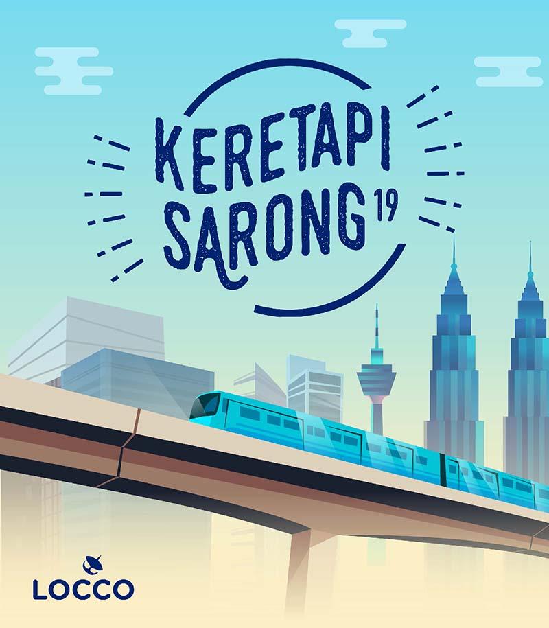 Kuy Ikutan! Berkain Sarung Ramai-ramai di Keretapi Sarong Malaysia, keretapi sarong 2019, keretapi sarong malaysia, kereta api malaysia, event malaysia
