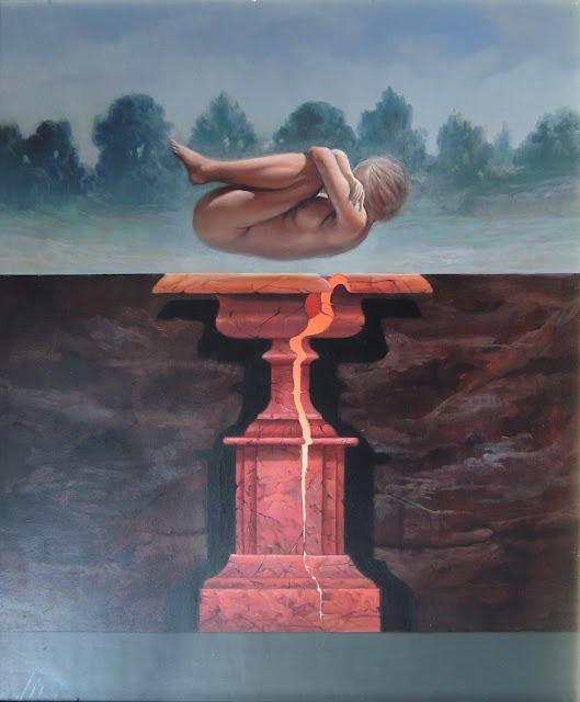 José Marí pintura surrealista arte valencia desnudo
