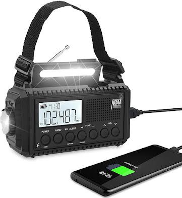 Portable Severe Weather Alert Radio