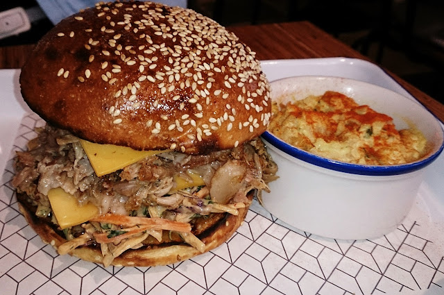 Rustica Canteen, bakery, pulled pork