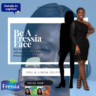 Are you 18 or above, Female, Nigerian, and harbour modeling dreams? Then here's your chance to be featured in a limited packaging of Fressia Skin Glow soap with @LindaOsifo and get rewarded with cash price.
