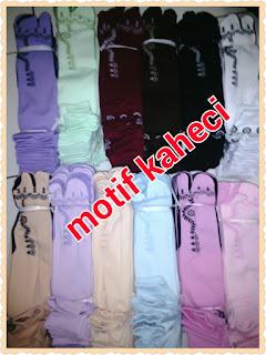 Mr.Sockim Kaos Kaki Muslimah dengan Banyak Pilihan Motif & warna