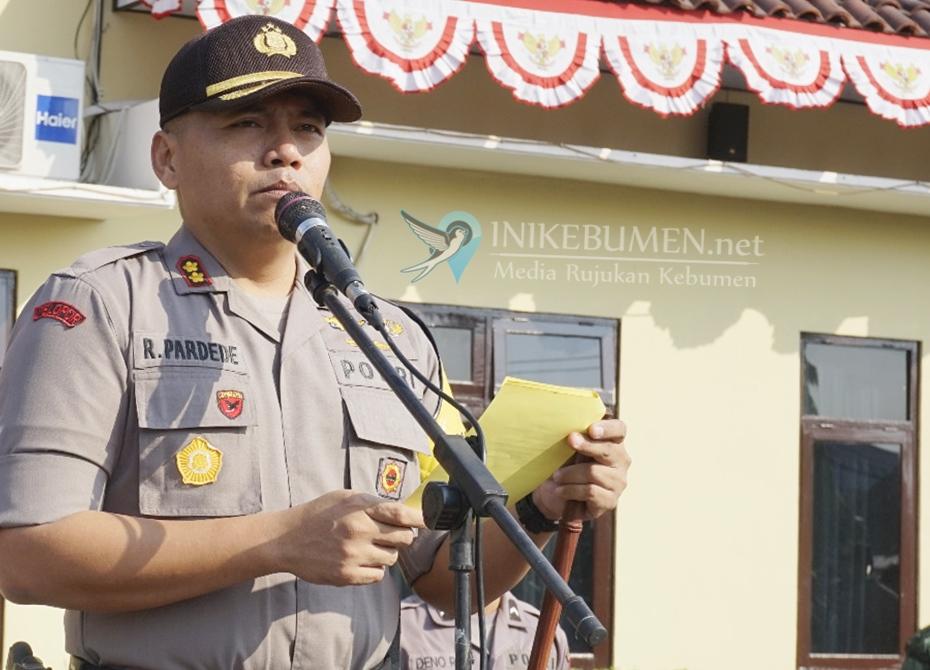 Amankan Pilkades Serentak, Polres Kebumen Terjunkan 400 Anggotanya