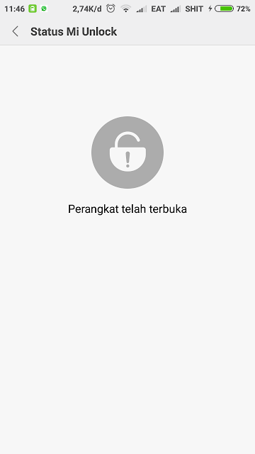 Unlock Bootloader Redmi 4x