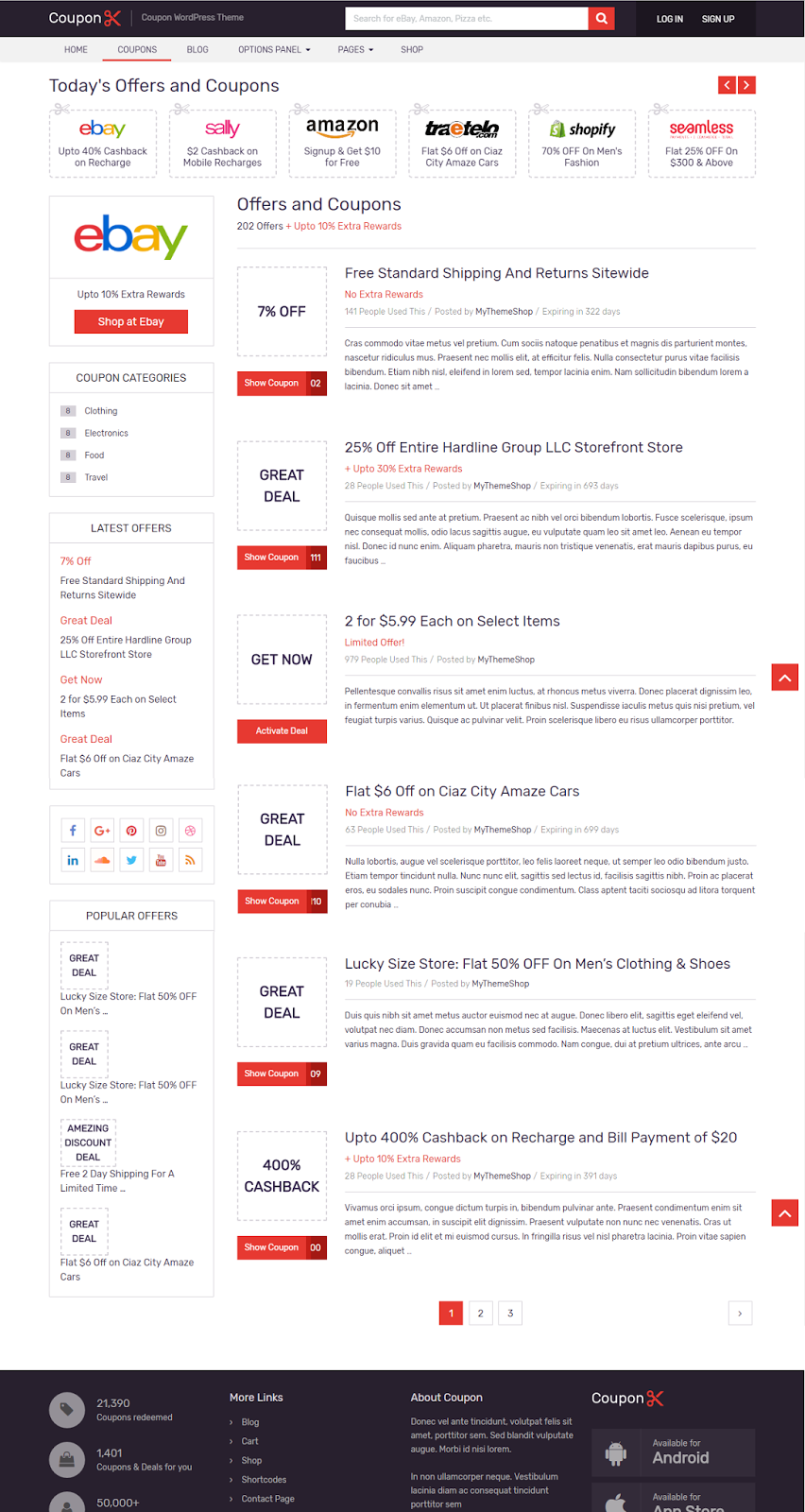Best Wordpress Coupon Theme: Free Download