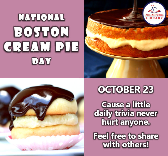 National Boston Cream Pie Day Wishes For Facebook