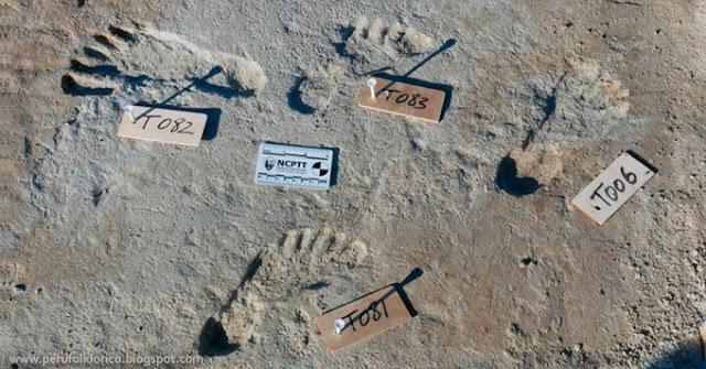 Investigadores hallan huellas humanas que indican que América fue poblada miles de años antes de lo que se creía [FOTOS]